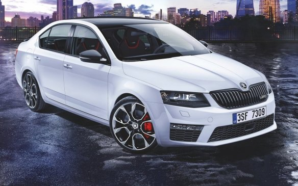 <p>Škoda was a cheap line of vehicles (in dollars and quality) made in the former Czechoslovakia, and then acquired by Volkswagen. The Octavia has been around for more than half a century, and in its latest iteration comes in wagon and sedan bodystyles to match the Audi A3 on style, but eclipsing both models in size.</p>