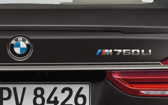 BMW M760Li logo