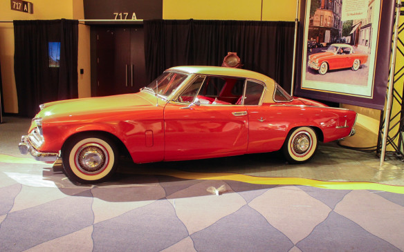 <p>Almost as revolutionary as the Airflow in the '30s were the Studebakers of the late '40s and early '50s. Studebaker was at the forefront of American automobile styling and this V-8 powered Commander 'Starliner' Coupe was its crowning glory.</p>