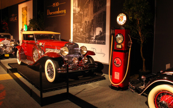 <p>The down-to-earth practical luxury of the Chrysler paled in comparison to this magnificent 1930 Duesenberg Model SJ, which was the mightiest American motorcar of its day. It is indeed a Grand Classic and its advertising left no doubt as to its social stature.</p>