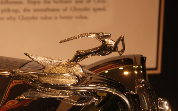 <p>No this is not an impala. It's a gazelle, the mascot on the radiator of a 1931 Chrysler Imperial.</p>