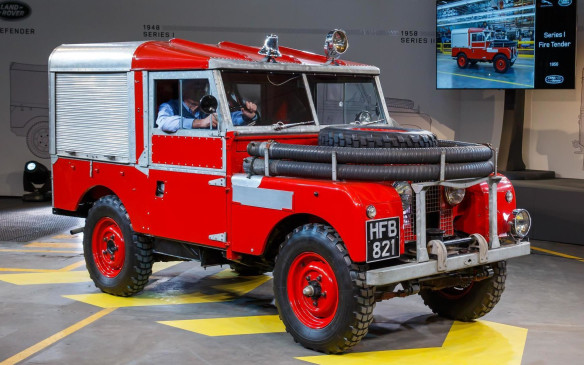 "<p>Originally designated a commercial vehicle, Land Rovers were not allowed to exceed a top speed of 48 km/h, but their acceptance became so widespread that its designation was changed to ""multi-purpose vehicle"" in order to allow a broader range of uses, including service vehicles.</p>"