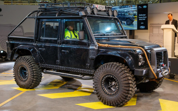 <p>Defender also embraced its iconic status with a series of special editions and branding partnerships, particularly in films such as Tomb Raider and the James Bond franchise, whose plots conveyed the rugged adventurous lifestyles that had made the SUV iconic.</p>