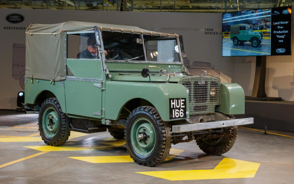 "<p>The design resources required for the Land Rover had to be low cost due to the restrictions on materials. Aluminum was chosen for the body and its moulding was ""no-fuss,"" hence the flat panels and constant-radius curves that would be easy to form.</p>"