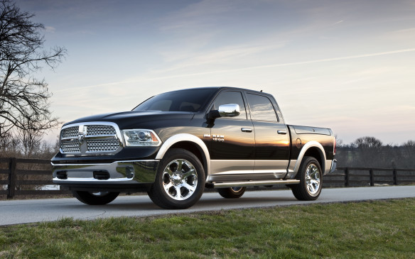 <p>Chrysler's truck division was only two years young in 2013, but its long-horn brand identity was cultivated long before that as part of the Dodge brand. Its Ram pickup trucks earned some hard-fought market share after their re-invention in 1994. The engines were key to their success story: the 395-hp 5.7-L Hemi -8 is legendary, while the Cummins 6.7-L turbodiesel inline six-cylinder enjoys a huge following. Unlike the V-8 diesels offered in the heavy-duty GM and Ford pickups, the Cummins is a straight six, which is inherently smoother and mechanically simpler since it has just one cylinder head and half as many camshafts as an OHC V-8. It even came with a Jake brake, which releases compressed air trapped in the cylinders to slow the vehicle. That's the kind of authenticity truck buyers look for and it certainly motivated truck buyers to swap allegiance – no small feat in a segment where brand loyalty is sacred.</p>