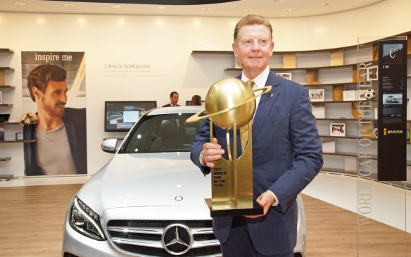 <p>Following  are the 'Top Three in the World' finalists for each of five categories of the 2016 World Car Awards: World Car of the Year; World Luxury Car; World Performance Car; World Green Car; and World Car Design. (Shown here is the 2015 World Car of the Year - the Mercedes-Benz C-Class.)</p>