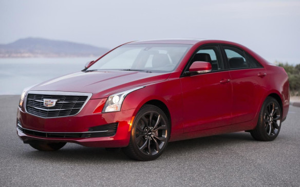 2016 Cadillac ATS Sedan Black Chrome