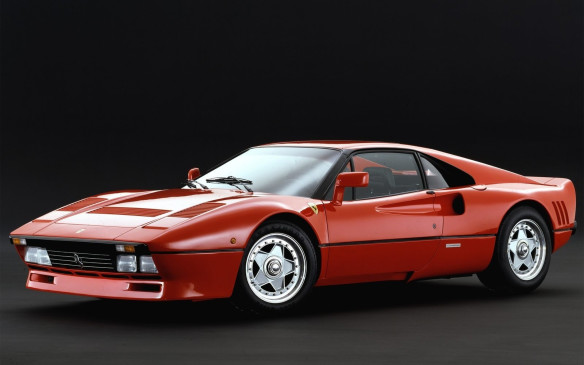 <p>A street-legal version of the 308 GTB competition car, the 288 GTO featured a smaller 2.8-litre twin turbo V-8 that made 400 hp (20 years earlier, the 250 GTO used a 300-hp 3.0-litre V-12). There were only 272 produced over three model years, before it gave way to the awesome F40. The GTO was named to the Top Sports Car list for the 1980s, coming second to the Porsche 959.</p>
