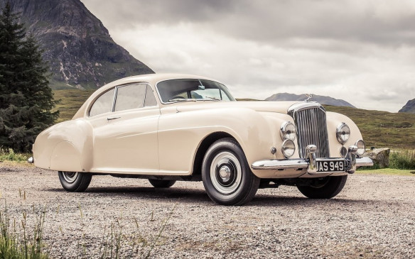 <p>The H.J. Mulliner bodied Continental was the 2-door version of Rolls-Royce's Bentley R-Type and it became the fastest four-seat production car of its time. The R-Type 4.6-litre inline 6-cylinder engine was modified to improve power output (estimated at 130 hp in its initial form). The car was primarily built for the UK market, with fewer than 50 fitted with left-hand drive.</p>