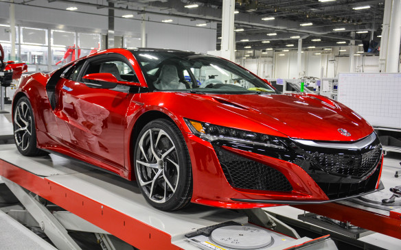 <p>An exclusive tour of the facility where the all-new 2017 Acura NSX is built.</p> <p>Words and pictures by David Miller.</p>