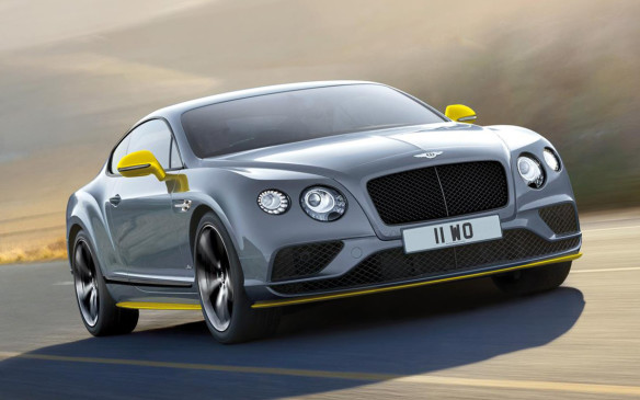 <p>Bentley Continental GT Speed Black Edition coupe</p>