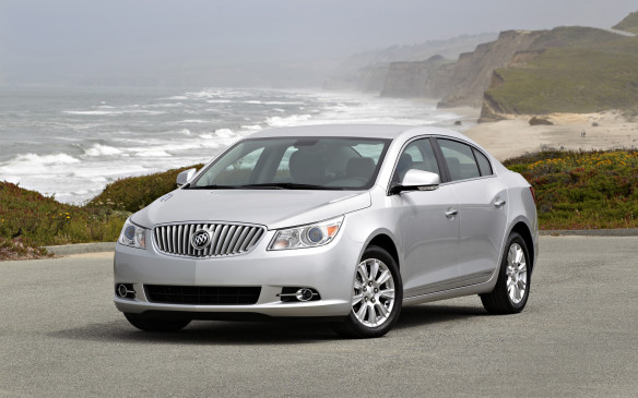 <p>The second-generation Buick LaCrosse – previously badged as the Allure in Canada – demonstrates that Buick is capable of defending its home turf against challengers such as Lexus and Jaguar. It utilizes GM's Epsilon II platform developed by Opel, its German subsidiary, designed to accommodate both front-drive and all-wheel-drive configurations. Its sculpted body enveloped an adventurous interior, with a dashboard that sweeps dramatically into the doors.</p>