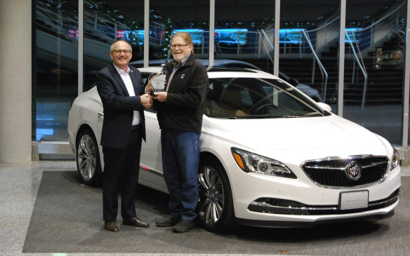 <p>The Buick LaCrosse, claimed the Best New Large Premium Car laurels with 656 points and scored highest in class in Fuel Efficiency.  </p> <p>It beat out the Volvo S90 (655) and Mercedes-Benz E-Class (653).</p>