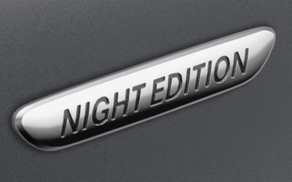 <p>Mercedes-Benz S-Class Coupe Night Edition badge</p>
