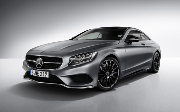 <p>Mercedes-Benz S-Class Coupe Night Edition</p>