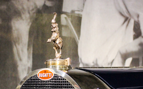 <p>Fittingly for a car of its stature, the radiator cap mascot for the Type 41, used only on those Royales, was a sterling silver elephant, cast from a sculpture by Ettore Bugatti's younger brother Rembrandt, who was famous in his own right as a sculptor.</p>