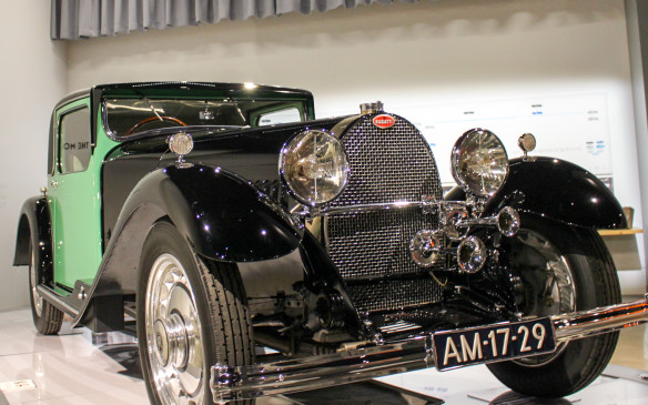 <p>This luxurious 1931 Type 50S, complete with stingray leather upholstery and Jean Bugatti's inspired aesthetic, illustrates the dual nature of Bugattis. Under its hood is a supercharged straight-eight engine and variants of this model competed capably at Le Mans.</p>