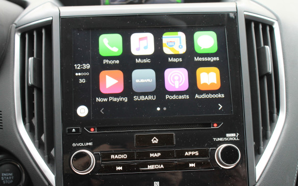 <p>All trim levels come with Apple CarPlay and Android Auto as standard, so you can connect your smartphone to the car and see many of its displays on the centre screen.</p>