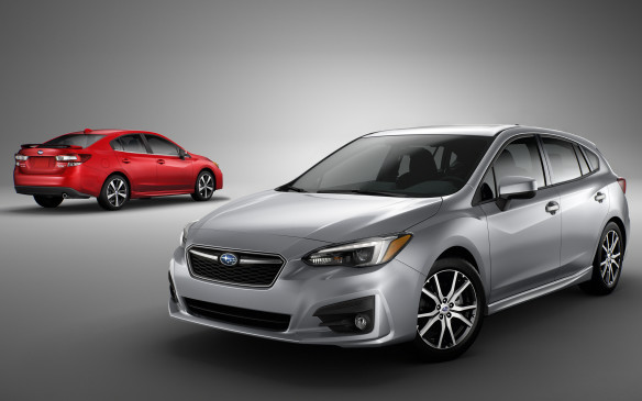 <p>The Impreza is available as either a sedan or, for an extra $900, a more versatile 5-door hatchback, and in four different levels of trim from $19,995 to just over $30,000.</p>
