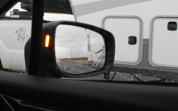 <p>Both Sport and Sport-Tech trims also feature blind-spot detection and rear detection as standard, with the side warning lights now relocated to the inside of the mirrors. Visibility all around the car is very good, in any case.</p>