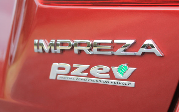 <p>At least the Impreza is rated as a partial zero emissions vehicle (PZEV), producing far fewer smog-causing emissions than most other vehicles.</p>