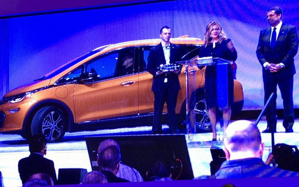 "<p>7:00 AM - Media day for the North American International Auto show kicked off with the announcement of the Chevrolet Bolt as the <a href=""http://www.autofile.ca/en-ca/auto-news/2017-north-american-car-utility-and-truck-of-the-year-are%E2%80%A6"">2017 North American car of the Year</a>, adding to its award collection. The Bolt has already been named Green Car of the Year and Motor Trend Car of the Year.</p>"