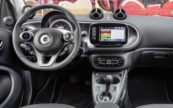 <p>Smart fortwo electric drive interior</p>