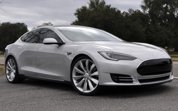 <p>Tesla Model S</p>