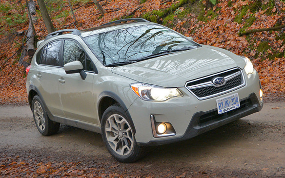 <p>One of three Subaru segment Residual Value Awards (RVA). (Photo by Kanishka Sonnadara for Autofile.ca)</p>