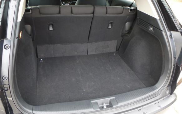 <p>Honda HR-V trunk</p>
