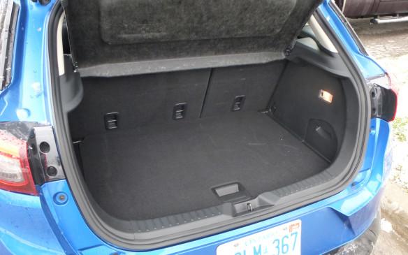 <p>Mazda CX-3 trunk</p>