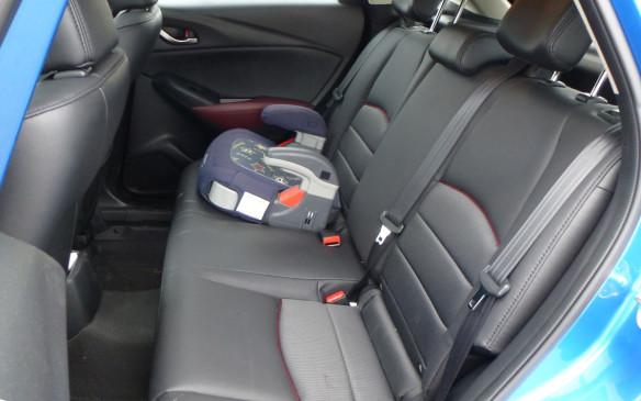 <p>Mazda CX-3 rear seat</p>