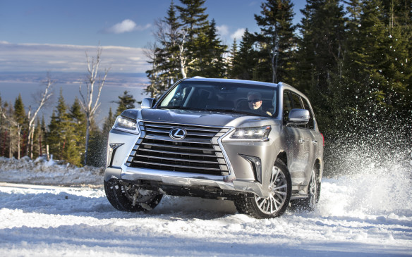 "<p>Lexus planned to show off the capabilities of its full 2016 all-wheel-drive lineup during a media event in the scenic Charlevoix region northeast of Quebec City, where snow in December is usually a certainty. Not so this year, however – just bare roads and barren fields, apart from a man-made snowy patch at the top of <em>Le Massif de Charlevoix</em>, where a few traction tests were possible.</p> <p>The event served pimarily as a coming-out party for the brand's utility vehicle flagship, the ""refreshed"" LX 570. Here are 16 key features that make the 2016 LX 570 even more attractive to its well-heeled potential buyers.</p>"