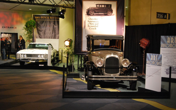 <p>Presented by the Cobble Beach Concours D'elegance, there are 17 vehicles on display, showcasing a vast automotive and advertising history. The vehicles are showcased against backdrops of advertising from the period when they were new. They make for some great photo ops.</p>
