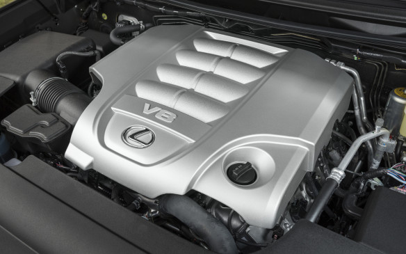 <p>The lone engine choice remains unchanged from the previous model year – a 5.7-litre V-8 producing 383 horsepower and 403 lb-ft of torque.</p>