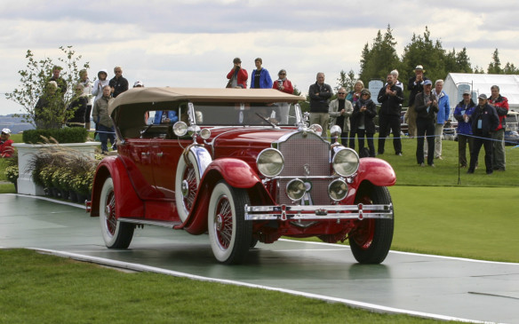 "<p>While the judges opted for the Graham as their top choice, this 1929 Packard 645 Dual-Cowl Phaeton took the ""People's Choice"" award. Of just over 2000 Packard 645 models built, fewer than 100 were Dual-Cowl Sport Phaetons</p>"