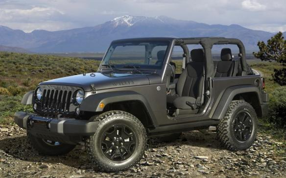 Jeep Wrangler Willys Wheeler Special Edition