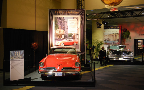<p>For those show goers looking to take a quiet step back in time, the Art & the Automobile Exhibit is for you.  With many different styles, tastes and historical vehicles on display, you will want to make this exhibit a must see.</p>