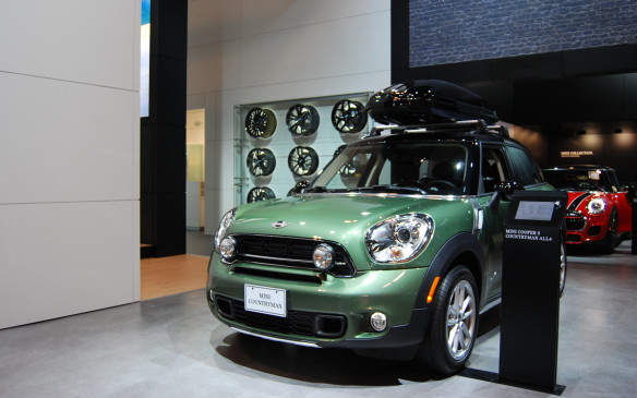<p>The amount of fun packed in this, well Mini, is enough to make you want to stop and take a look. And if you can't fit your fun inside, just put it on the roof.</p>