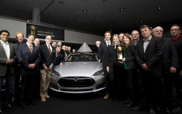 Tesla Model S - 2013 World Green Car - NYIAS