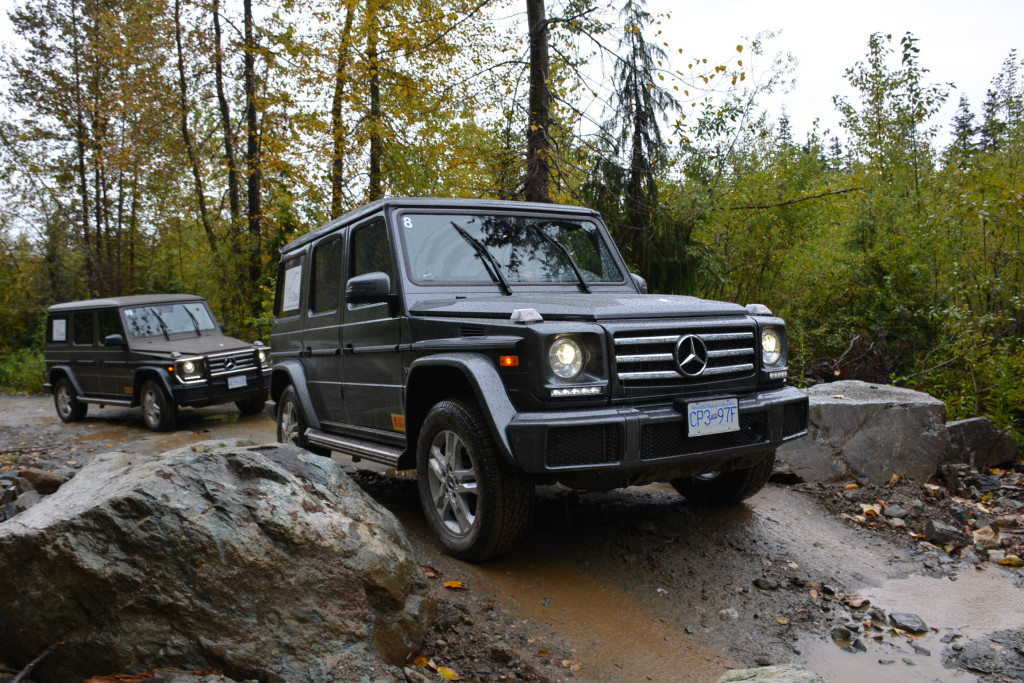 Car Photo Getting Down And Dirty With The Mercedes Benz G