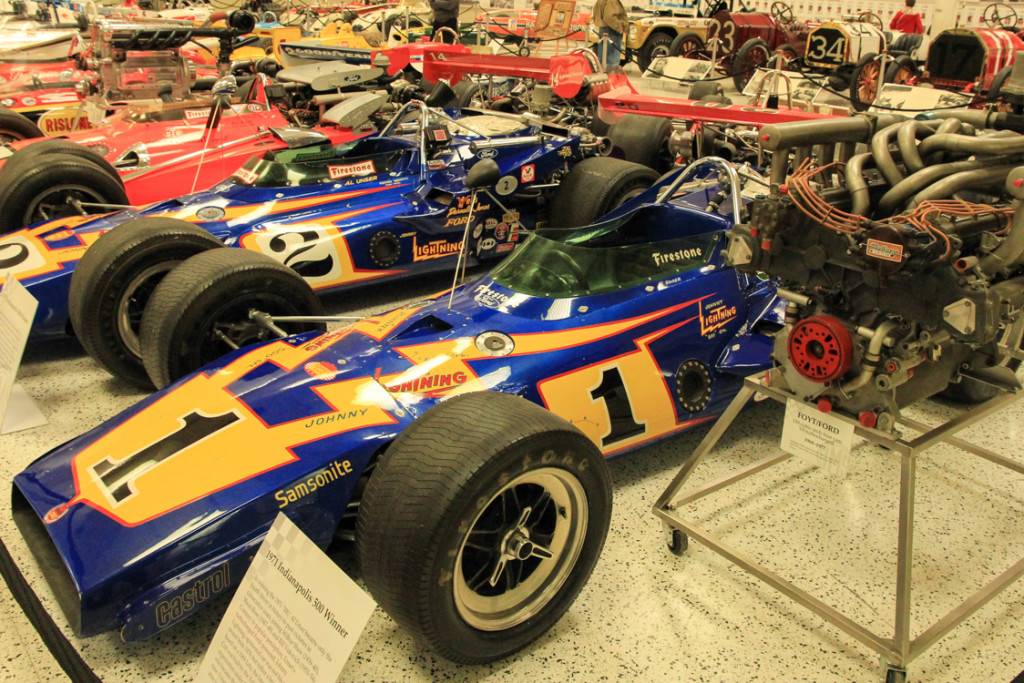 Car Photo Inside The Indianapolis Motor Speedway Museum