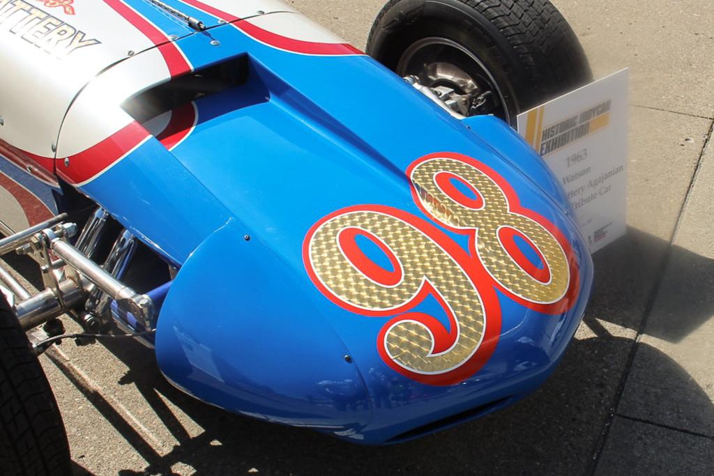 Car Photo Classic Race Cars Take On The Brickyard