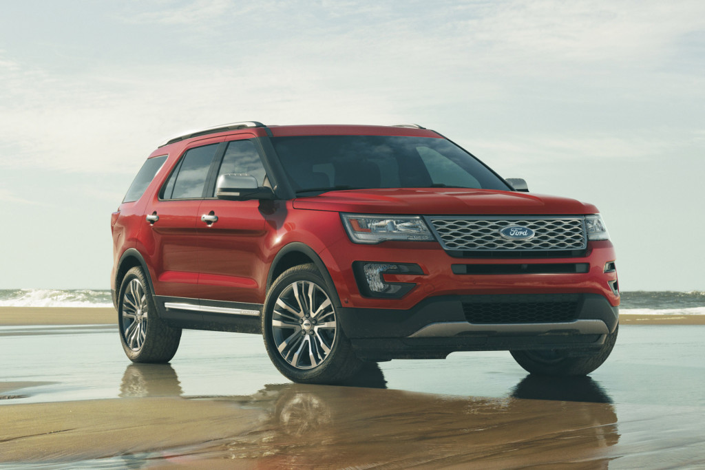 Excellent Read Auto News 2016 Ford Explorer First Look  Autofileca