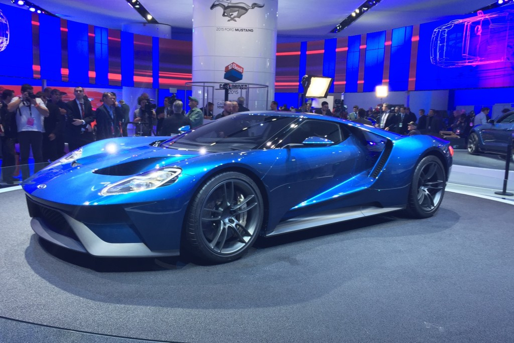 Read Auto News Ford Gt To Be Built In Canada Autofile Ca
