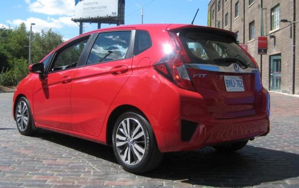 The New Honda Fit Is Effectively A Compact Car In A Sub Compact Body