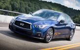 The five-year-old Q50 gets a mild design refresh inside and out to bring it up to date
