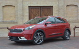 The Kia Niro is a brand-new, hybrid-only front-wheel-drive crossover – a first for the brand