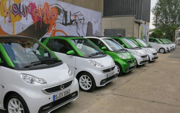 Smart fortwo electric drive vehicles