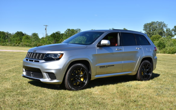 "<p>To help celebrate the Grand Cherokee's 25 anniversary, Jeep has added a new model to its premium SUV lineup, the Trackhawk. It's the most powerful and quickest SUV ever, featuring a supercharged 6.2-litre V-8 engine that delivers 707 horsepower, 645 lb-ft of torque, can launch to 96 km/h in just 3.5 seconds and covers the quarter mile in 11.6 seconds. Its top speed is 290 km/h. The Trackhawk, as well as the Grand Cherokee Summit and SRT models, get a new Premium Real Metal Package for 2018 that enhances the interior with various upscale real metal accents. The SRT with the available Signature Leather-Wrapped interior package now features matte carbon fiber spears, black exterior badging and new standard 20-inch satin Carbon Spider Monkey wheels. Low-gloss black 20-inch lightweight wheels are optional. A Sterling Edition package marking Grand Cherokee's 25th anniversary makes its debuts for the 2018 model year. Available on Limited models, it features platinum chrome badging, lower fascia applique, grille rings, roof rails and fog lamp bezels, 20-inch Heritage wheels, available Sangria exterior colour, platinum tow hooks, and a ""25th Anniversary"" badge. Inside, there's a leather-trimmed instrument panel and centre console, and unique Heritage perforated seats that feature decorative stitching is standard. Uconnect's 8.4-inch touchscreen infotainment system, a nine-speaker audio system with active noise cancellation and blind-spot monitoring with rear cross path detection, all standard. All Grand Cherokee models are now equipped with standard Apple CarPlay and Android Auto. Active noise cancellation is now standard with the available nine-speaker Alpine audio system.</p>"